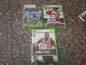 XBOX 360 WITH 7 GAMES & 2 CONTROLLER'S