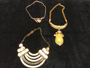 41 Pieces of Costume Jewellery - $75.00 Firm