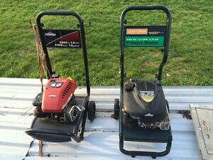 Gas pressure washers.