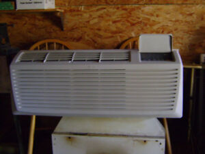 high capacity through the wall heater air conditioner