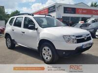 DACIA DUSTER AMBIANCE DCI 4WD, White, Manual, Diesel, 2013
