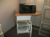 Toaster Oven & Toaster Oven Stand
