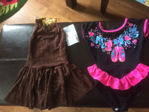 Dance body suits size 6x