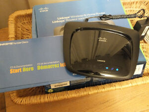 LINKSY'S WIRELESS ''N'' HOME ROUTER,.# WRT120N,..COMPLETE. Kitchener / Waterloo Kitchener Area image 2