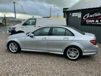2010 Mercedes-Benz C-CLASS 2.1 C220 CDI BLUEEFFICIENCY SPORT 4d 170 BHP Saloon D