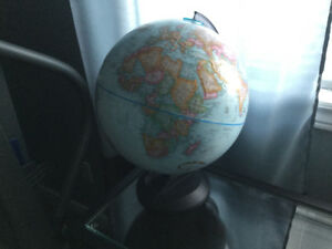 World globe excellent condition