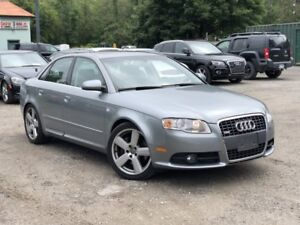 2008 Audi A4 LOW KMS 2.0T S-Line Quattro AWD Leather Sunroof