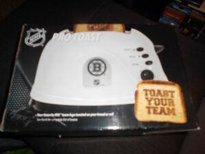 Rare NHL Boston Bruins Toaster