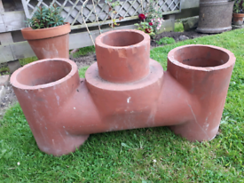 Large chimney pot planter