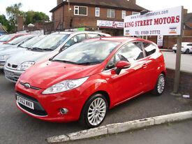 Ford Fiesta 1.4TDCi 70 DPF Titanium Diesel 3 door ** £20 road tax** 68 mpg!!