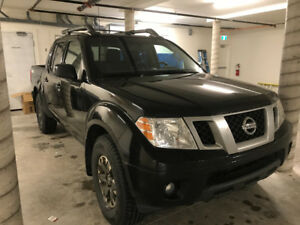 2015 Nissan Frontier Pro 4 Max loaded