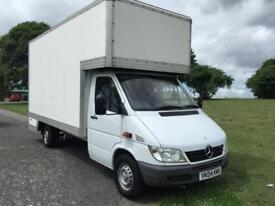 Mercedes Sprinter 311Cdi LWB 14ft Dropwell Luton Van Only 53348 Miles From New