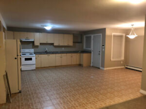 Large 2 bedroom basement with laundry and utilities included.
