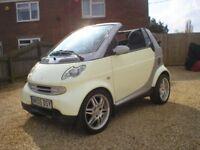 Smart car convertible