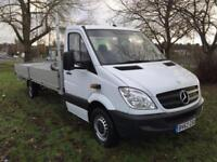 Mercedes Sprinter 313Cdi XLWB 3.5T Extended Chassis **6m (20ft)** Dropside