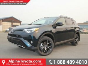 2017 Toyota RAV4 Hybrid SE  Hybrid - Nav - Sunroof - Leather Sea