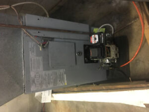Oil furnace & water heater!!