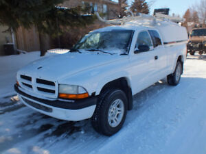 2001 Dodge Dakota Pickup Truck - Cpntractor - MUST SEE