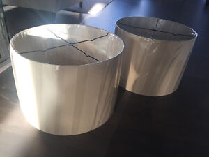 """Brand new - 18"""" drum shades - both for $50"""