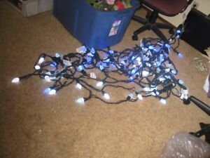 8 sets of outdoor christmas lights for sale
