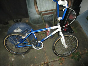 I have trick bike for sale and 2 mountain bike frames and parts