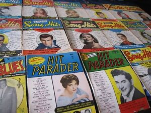 VINTAGE MUSIC SONGBOOKS/MAGAZINES FOR SALE