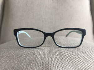Tiffany & Co. Eyeglasses - Black and Blue Rectangular Frames