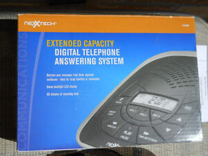 Nexxtech Extended Capacity Digital Answering machine 4313386 Peterborough Peterborough Area image 4