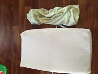 Baby Change Pad and 2 Fitted plush change pad covers