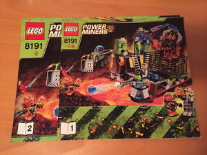 Lego - Power Miners 8191 - Lava Traz