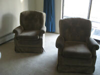 2 Matching Rocker Chairs FREE