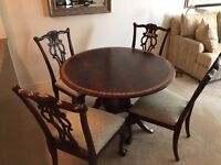Beautiful Chippendale dining suite