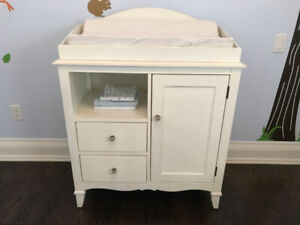 Restoration Hardware Changing Table & Topper