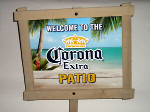 Corona Extra Patio Sign