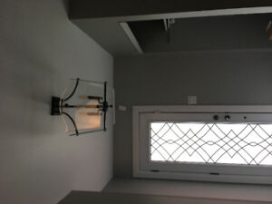 Beautiful flush light fixture (good for foyer)