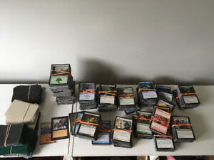 Magic the Gathering MTG collections mint playing cards