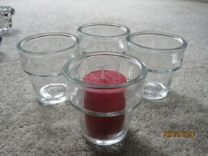 Various candle holders and Sairey Gamp ashtray Windsor Region Ontario image 8