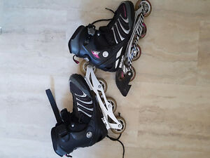 Woman's rollerblades