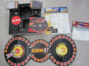 """""""Scene It?"""" DVD Board Game - Sports Edition In Collector Tin Kitchener / Waterloo Kitchener Area image 2"""