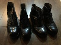Canadian military drill boots size 9