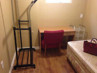 Finch and Victoria Park basement room for rent