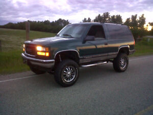 1995 GMC Yukon Two Door.