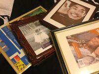 Lot of frames picture