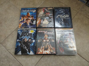 Blu Ray And DVD Discs for Sale - $3.00/disc - Lot of 23