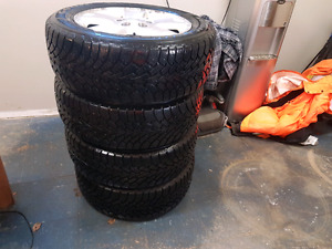 GOODYEAR NORDIC WINTER TIRES 235/55/R17
