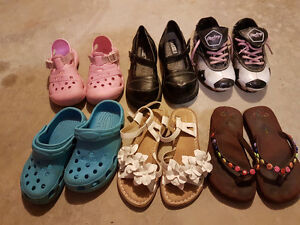 Size 13 girl shoes