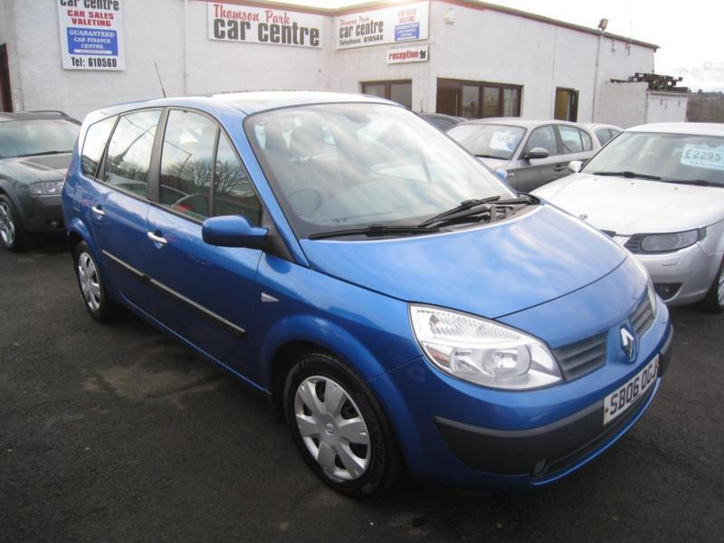 Renault Grand Scenic 1.6 VVT ( 111bhp ) Oasis 7 Seats. Only 60000 Miles.