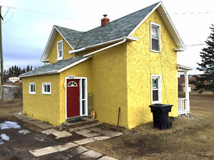 Renovated Town of Two Hills 2 bedroom house for rent