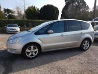 2008 FORD S-MAX TITANIUM 1.8 TDCi 125ps 6 SPEED MANUAL DIESEL 7 SEATER MPV