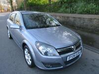 2006 '06' VAUXHALL ASTRA 1.4 SXi 5 DOOR HATCH IN LIGHTNING SILVER ONLY 54,000